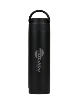 stainless steel reusable water bottle with custom logo