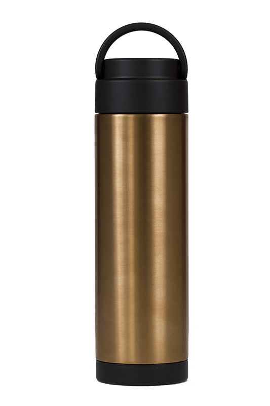 Metallic copper insulated bottle